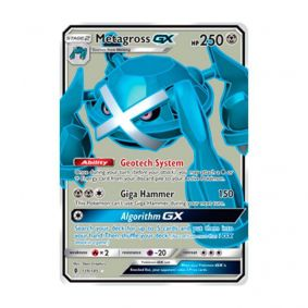 Pokémon TCG: Metagross GX (139/145) - SM2 Guardiões Ascendentes