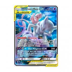Pokémon TCG: Mewtwo e Mew GX (SM191) - SM Promo