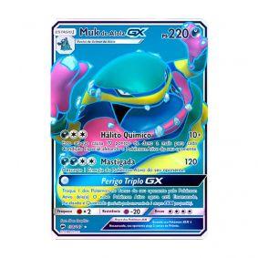 Pokémon TCG: Muk de Alola GX (138/147) - SM3 Sombras Ardentes