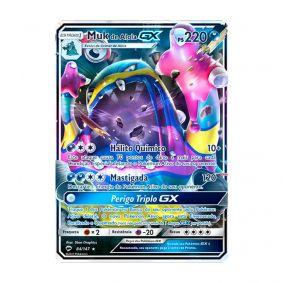 Pokémon TCG: Muk de Alola GX (84/147) - SM3 Sombras Ardentes