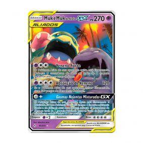 Pokémon TCG: Muk e Muk de Alola GX (61/214) - SM10 Elos Inquebráveis