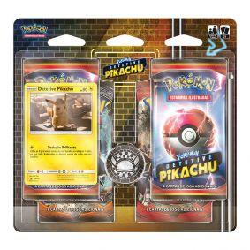 Pokémon TCG: Quad Pack Dossiê Detetive Pikachu