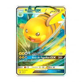 Pokémon TCG: Raichu GX (SM213) - SM Promo