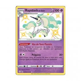 Pokémon TCG: Rapidash de Galar (SV048/SV122) - SWSH4.5 Destinos Brilhantes