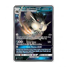 Pokémon TCG: Raticate de Alola GX (85/168) - SM7 Tempestade Celestial