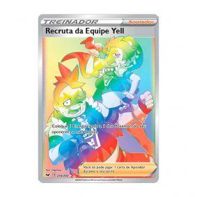 Pokémon TCG: Recruta da Equipe Yell (210/202) - SWSH1 Espada e Escudo