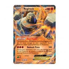 Pokémon TCG: Regirock EX (43/124) - XY10 Fusão de Destinos