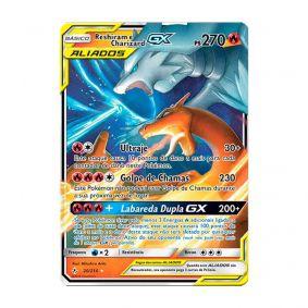 Pokémon TCG: Reshiram e Charizard GX (20/214) - SM10 Elos Inquebráveis