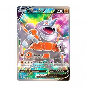 Pokémon TCG: Rhyperior V (181/189) - SWSH3 Escuridão Incandescente