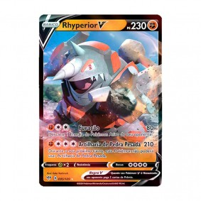 Pokémon TCG: Rhyperior V (95/189) - SWSH3 Escuridão Incandescente