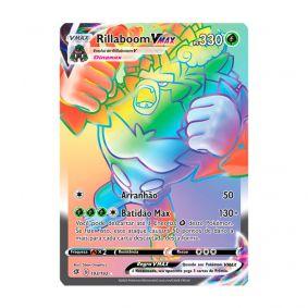 Pokémon TCG: Rillaboom VMAX (193/192) - SWSH2 Rixa Rebelde