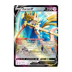Pokémon TCG: Zacian V (138/202) - SWSH1 Espada e Escudo