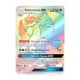 Pokémon TCG: Salamence GX (73/70) - SM7.5 Dragões Soberanos