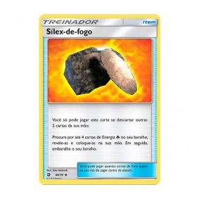 Pokémon TCG: Sílex-de-Fogo (60/70) - SM7.5 Dragões Soberanos