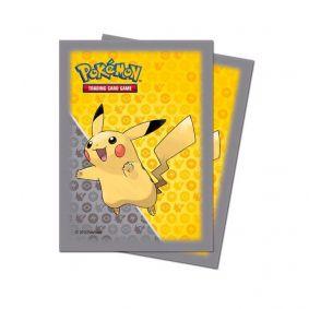 Sleeve Standard Oficial Ultra PRO - Pokémon TCG: Pikachu (65 unidades)