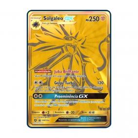 Pokémon TCG: Solgaleo GX (SM104a) - SM Promo