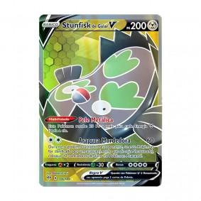 Pokémon TCG: Stunfisk de Galar V (184/189) - SWSH3 Escuridão Incandescente