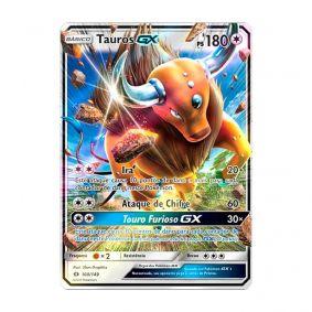 Pokémon TCG: Tauros GX (100/149) - SM1 Sol e Lua