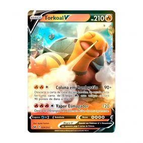 Pokémon TCG: Torkoal V (24/202) - SWSH1 Espada e Escudo