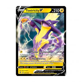 Pokémon TCG: Toxtricity V (70/192) - SWSH2 Rixa Rebelde