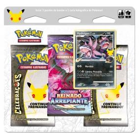 Pokémon TCG: Triple Pack Celebrações - Hydreigon C Lv.61