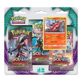 Pokémon TCG: Triple Pack SM2 Guardiões Ascendentes - Turtonator
