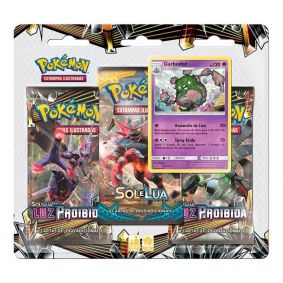 Pokémon TCG: Triple Pack SM6 Luz Proibida - Garbodor