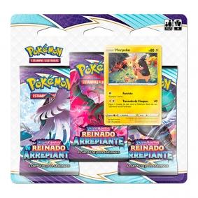 Pokémon TCG: Triple Pack SWSH6 Reinado Arrepiante - Morpeko