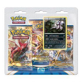 Pokémon TCG: Triple Pack XY9 Turbo Colisão - Umbreon