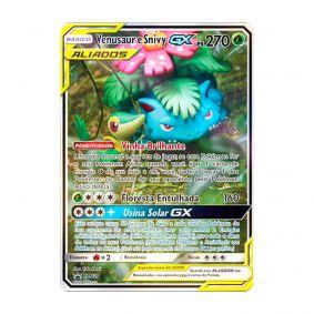 Pokémon TCG: Venusaur e Snivy GX (SM229) - SM Promo