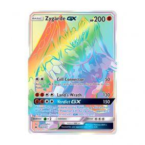 Pokémon TCG: Zygarde GX (136/131) - SM6 Luz Proibida