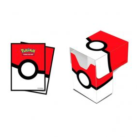 Sleeve Standard + Deck Box Oficial Ultra PRO - Pokémon TCG: Poké Ball
