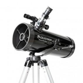 Telescópio Refletor Newtoniano PowerSeeker 127AZ com Adaptador para Smartphone Celestron