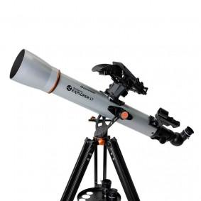 Telescópio Refrator StarSense Explorer LT 70AZ com App para Smartphone Celestron