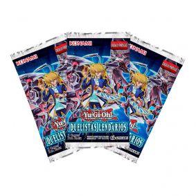 Yu-Gi-Oh! 3x Booster - Duelistas Lendários