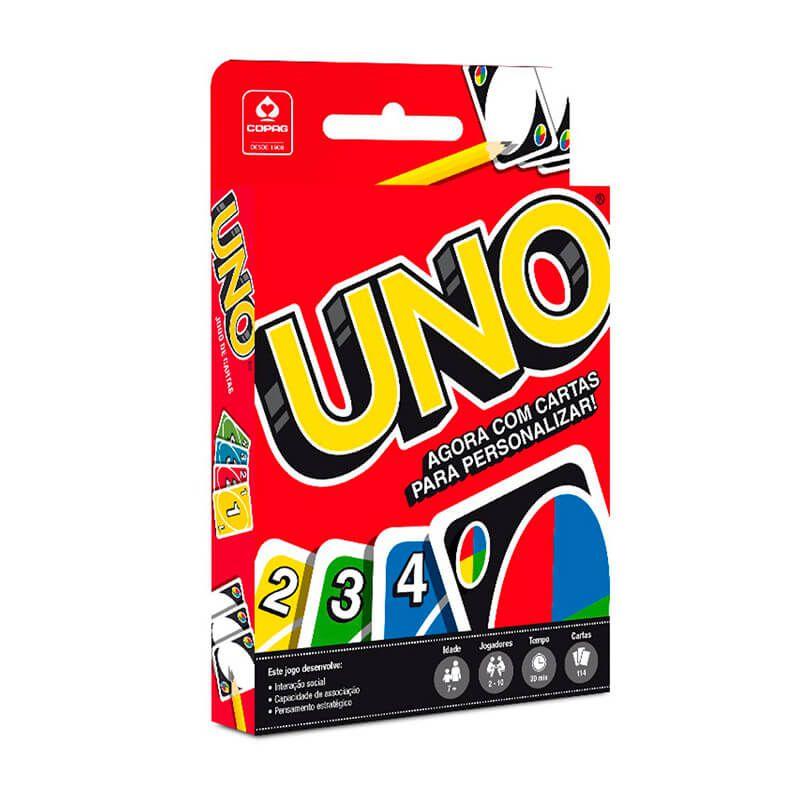 3x Jogo de Cartas UNO - COPAG