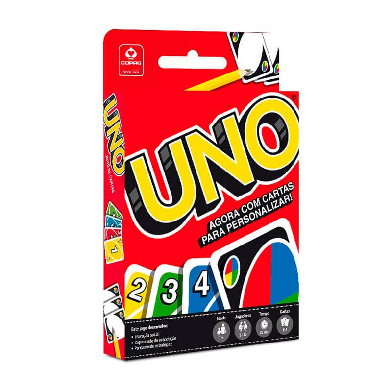 4x Jogo de Cartas UNO - COPAG