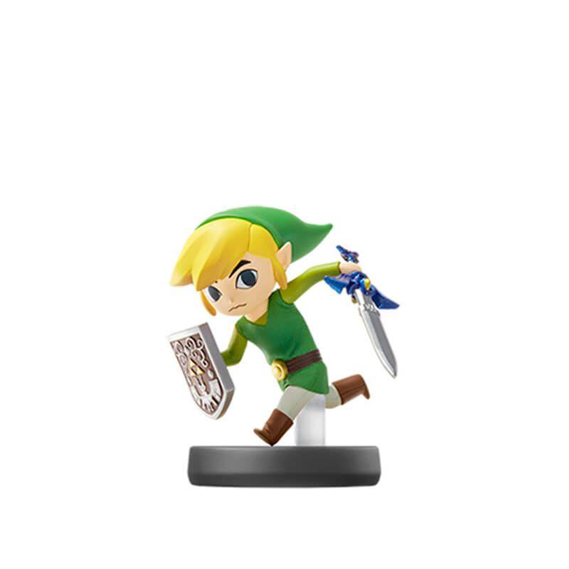 Amiibo Toon Link (Link Cartoon) Super Smash Bros. - Nintendo
