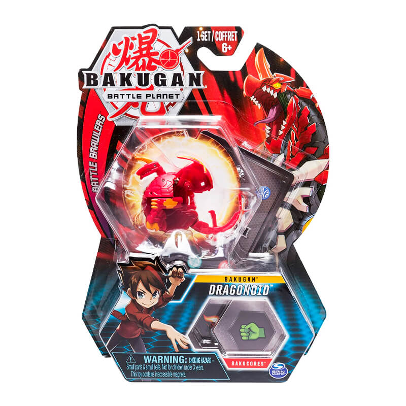 Bakugan Battle Planet - Bakugan: Pyrus Dragonoid