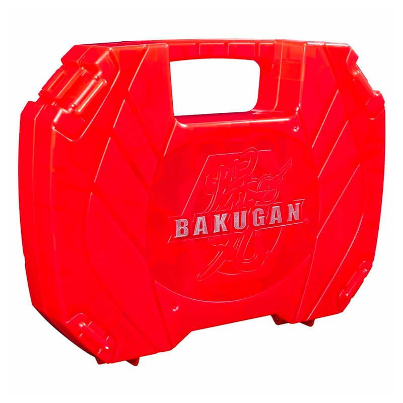 Bakugan Battle Planet - Case Vermelho Baku-Storage: Dragonoid