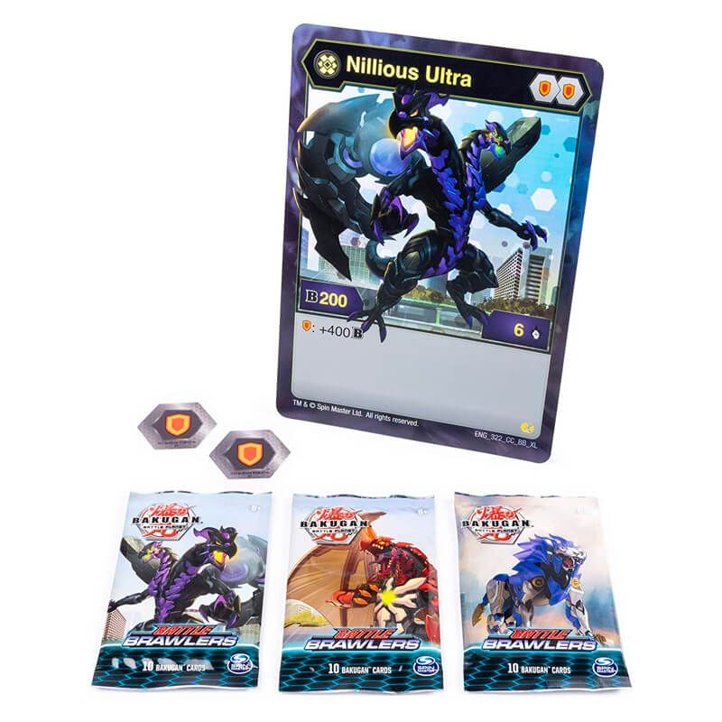 Bakugan Battle Planet - Deluxe Card Collection: Nillious Ultra