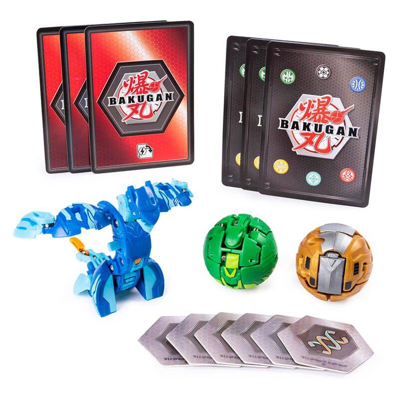 Bakugan Battle Planet - Starter Pack: Aquos Serpenteze Ultra