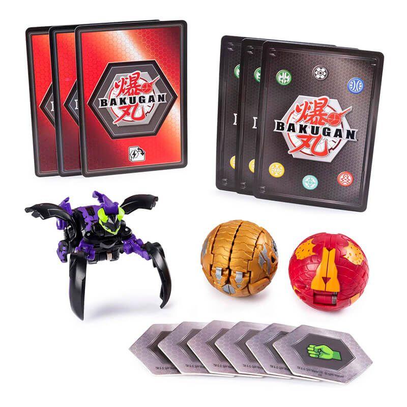 Bakugan Battle Planet - Starter Pack: Darkus Mantonoid Ultra