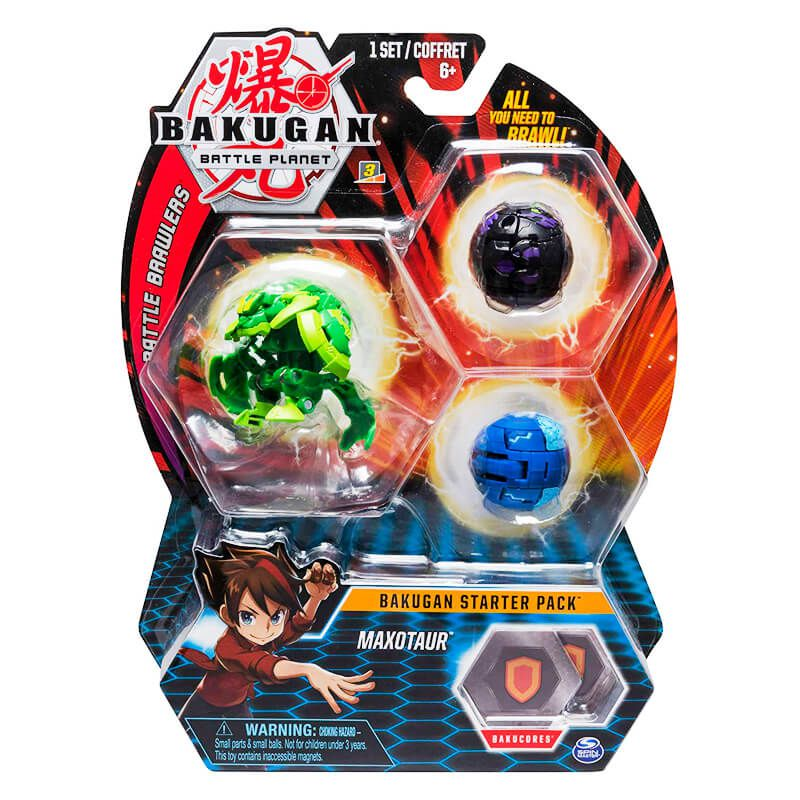 Bakugan Battle Planet - Starter Pack: Ventus Maxotaur Ultra