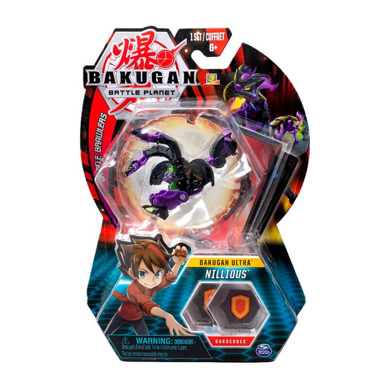 Bakugan Battle Planet - Ultra Darkus Nillious