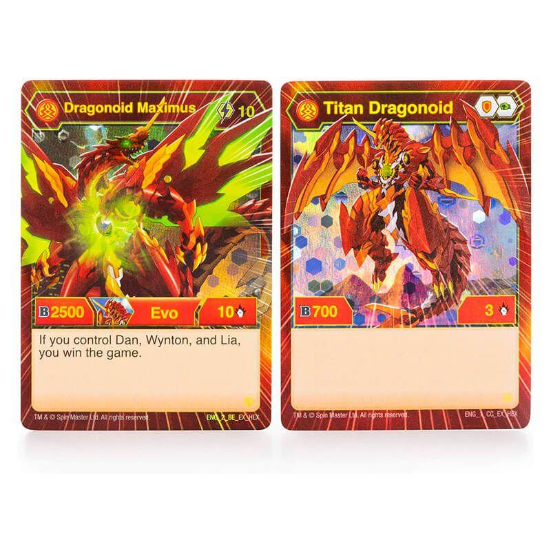 "Bakugan Battle Plantet - Figura Dragonoid Maximus 8"""