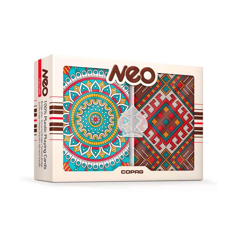 Baralho Plástico Neo Culture - COPAG