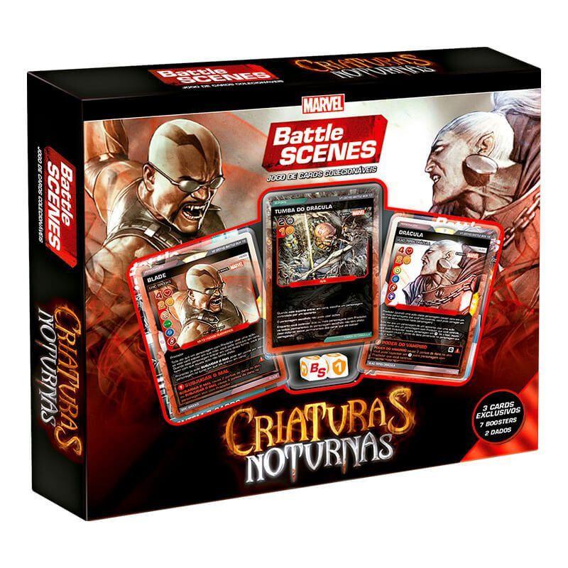MARVEL Battle Scenes Battle Box Especial - Criaturas Noturnas