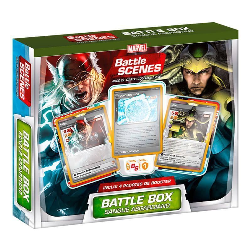 MARVEL Battle Scenes Battle Box Especial - Sangue Asgardiano