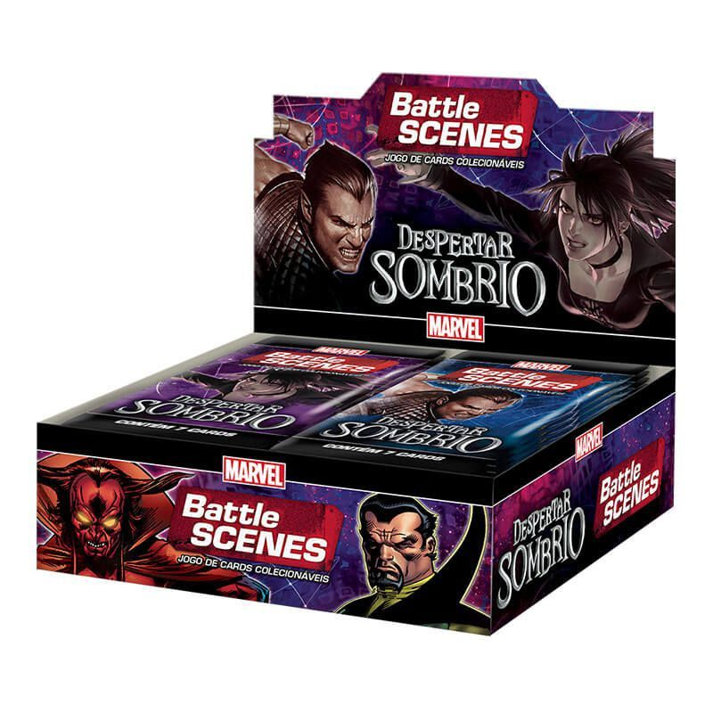MARVEL Battle Scenes Booster Box (36 unidades) Despertar Sombrio